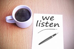 listening is engaging