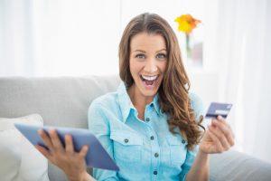 thrilling joy of online shopping