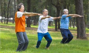 These elders indeed know the importance of physical activity.
