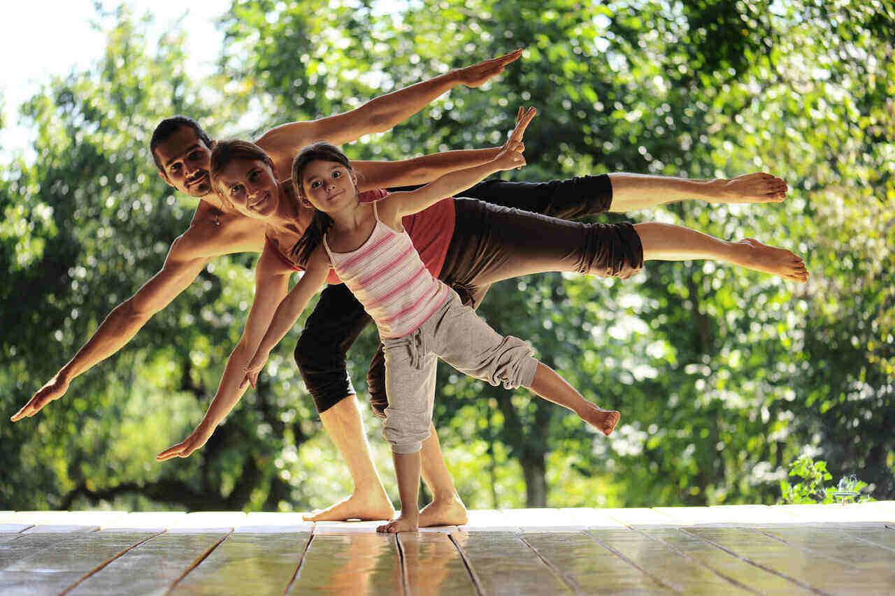 The importance of physical activity for the whole family is definitely beneficial.